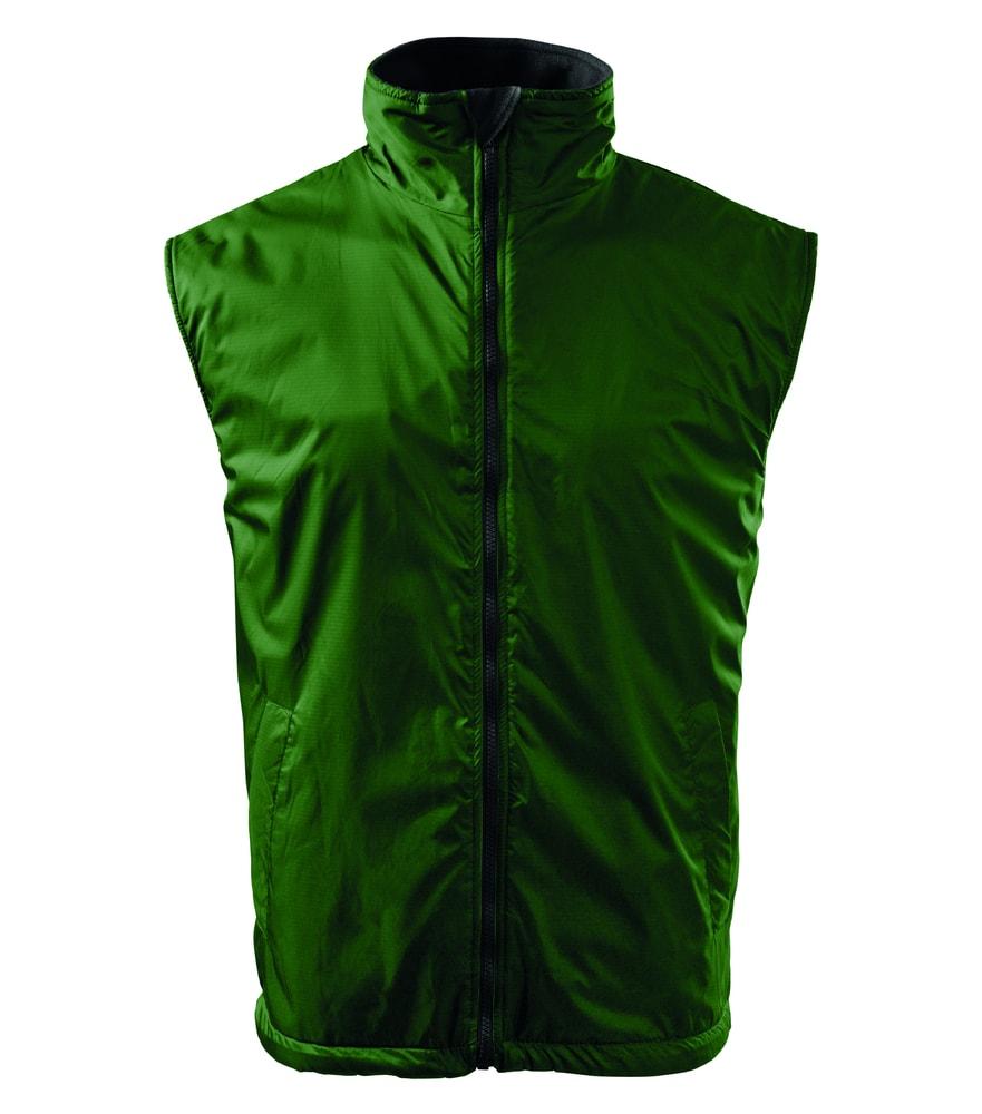 Adler Pánska vesta Body Warmer - Lahvově zelená | XXXL
