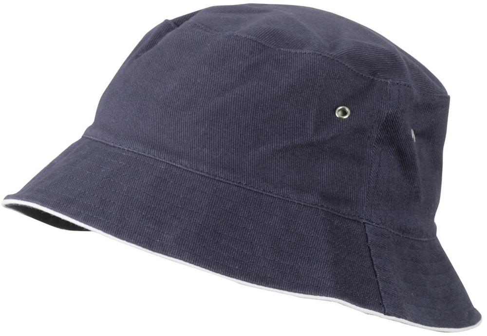 Dětský klobouček MB013 - Tmavě modrá / bílá | 54 cm