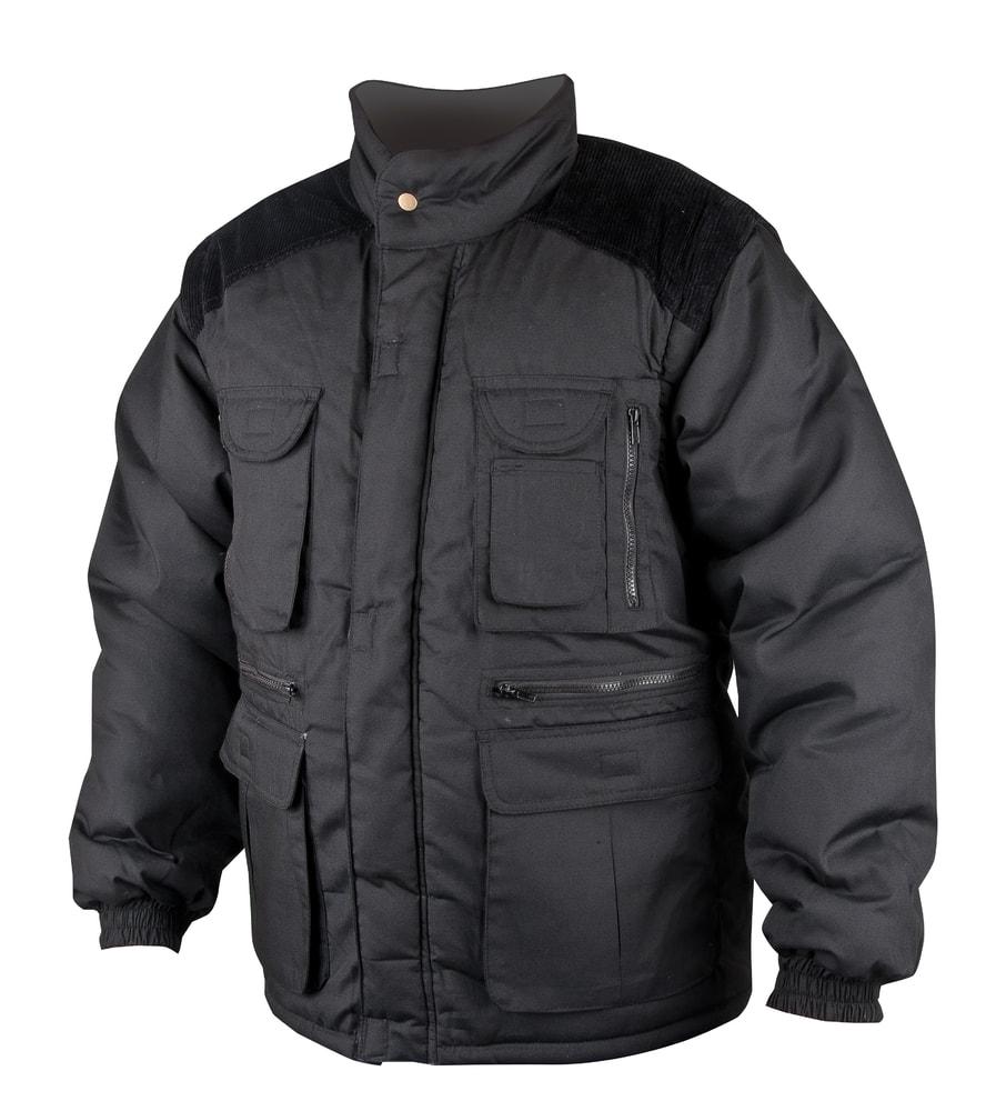 Ardon Zimná pracovná bunda Danny - Černá | XXL