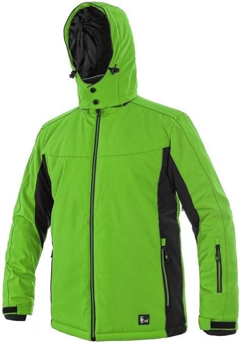 Canis VEGAS bunda, zimná, pánska - Zelená / černá | XXXL