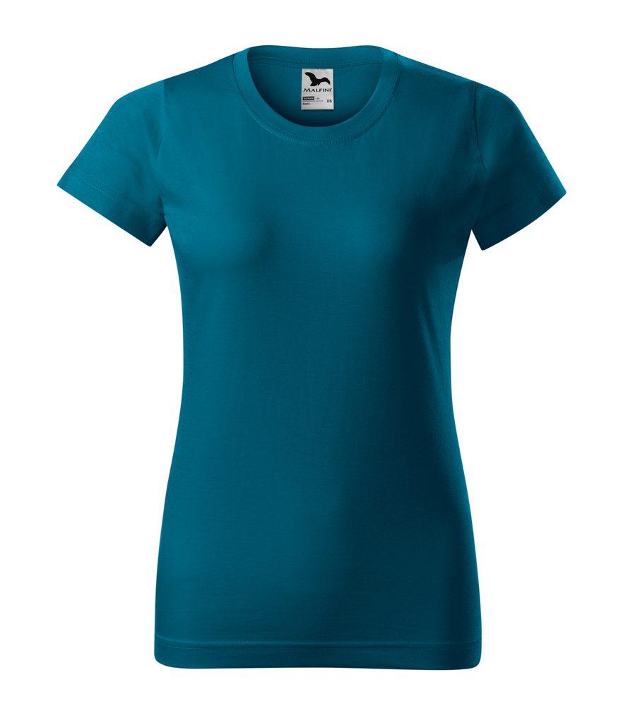 Adler Dámske tričko Basic - Petrolejová | M