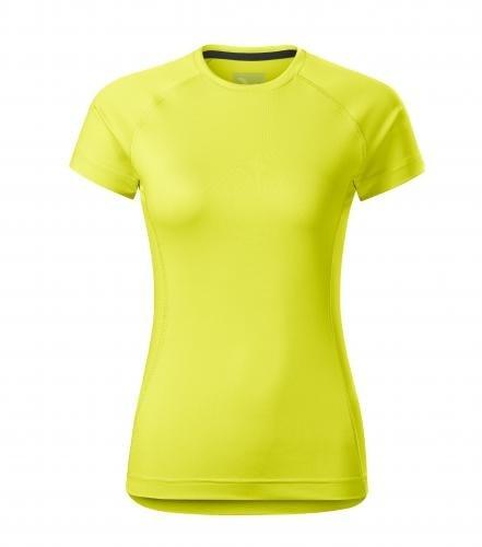 Dámské tričko Destiny - Neonově žlutá | L
