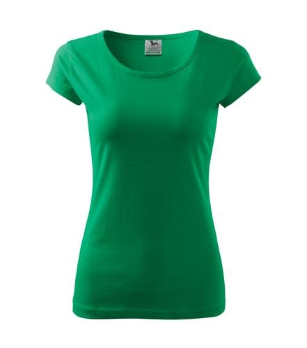 Adler Dámske tričko Pure - Středně zelená | S