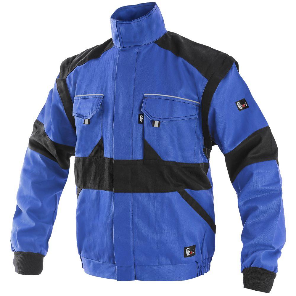 Canis Zimní pracovní bunda CXS LUXY HUGO - Modrá / černá | 54