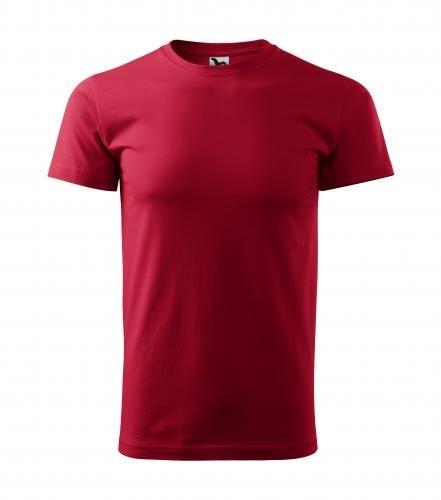 Adler Pánske tričko Basic - Marlboro červená | XXL