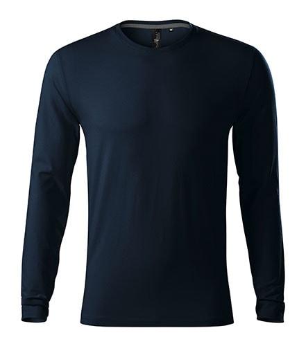 Adler Pánske tričko s dlhým rukávom Brave - Námořní modrá | S