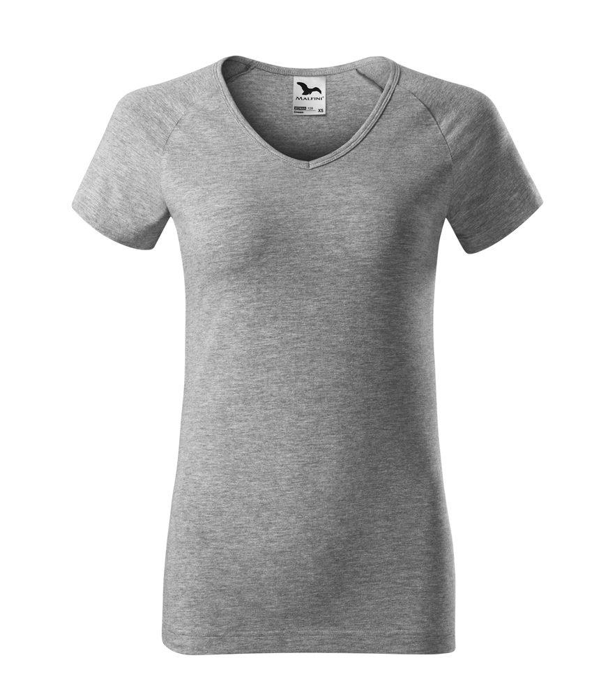 Adler Dámske tričko Dream - Tmavě šedý melír | XL