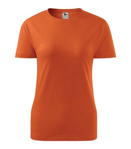 Adler Dámske tričko Basic - Oranžová | M