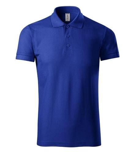 Pique pánská polokošile Joy - Královská modrá   XL