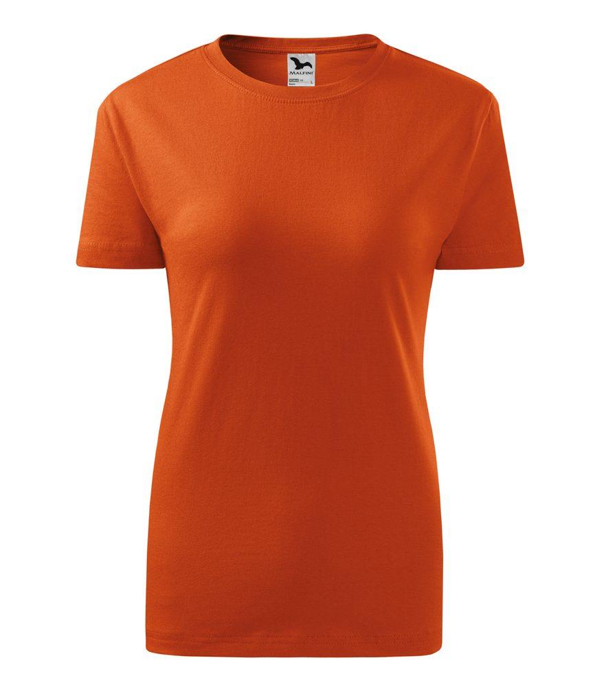 Adler Dámske tričko Classic New - Oranžová | XXL