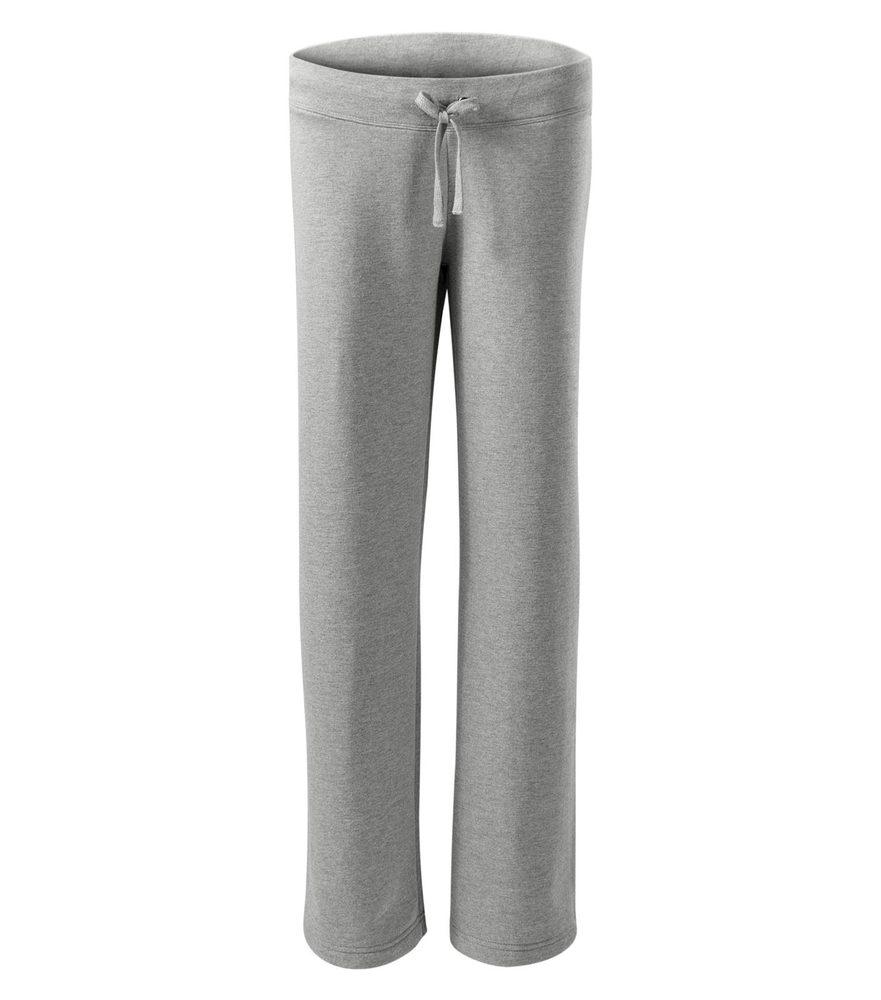 Adler (MALFINI) Dámske tepláky Comfort - Tmavě šedý melír | L