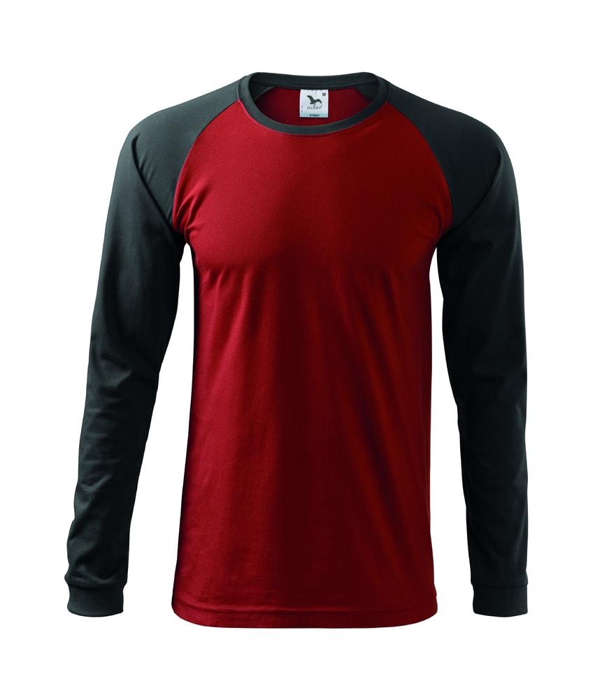 Adler Pánske tričko s dlhým rukávom Street LS - Marlboro červená | M