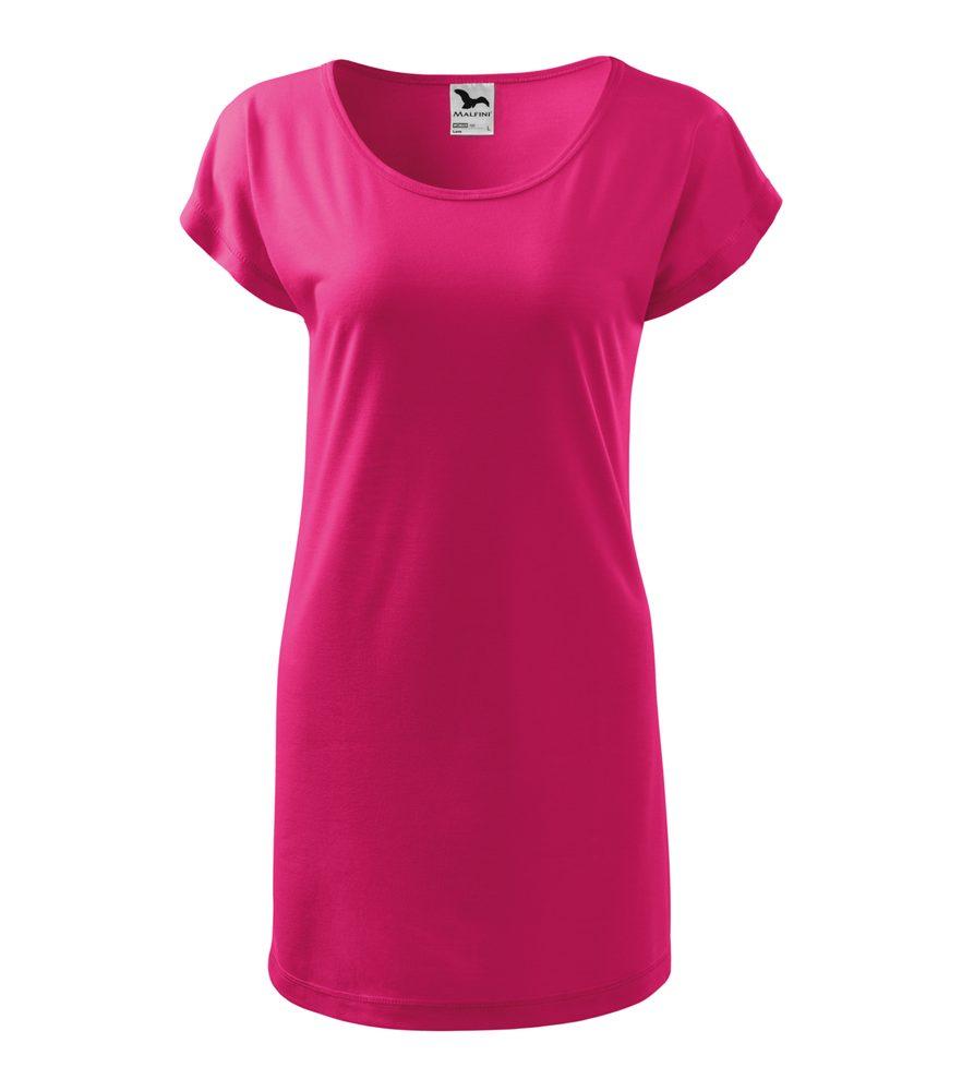 Adler (MALFINI) Dámske tričko Love - Purpurová | S