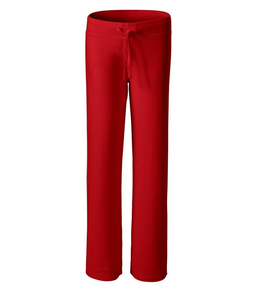 Adler (MALFINI) Dámske tepláky Comfort - Červená | L