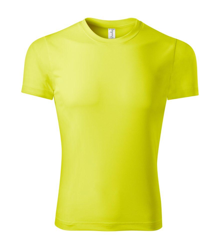 Adler Tričko Pixel - Neonově žlutá | L