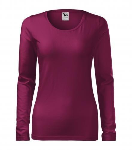 Adler Dámske tričko s dlhým rukávom Slim - Fuchsiová | L
