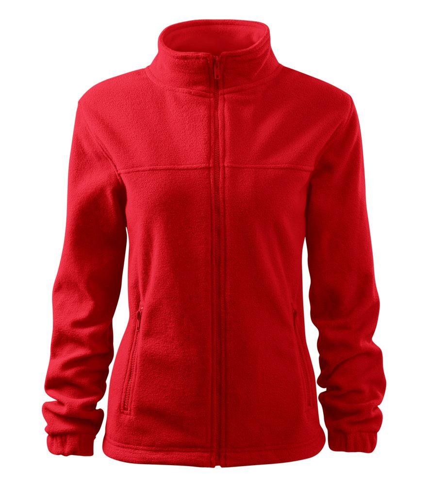 Adler Dámská fleecová mikina Jacket - Červená   L