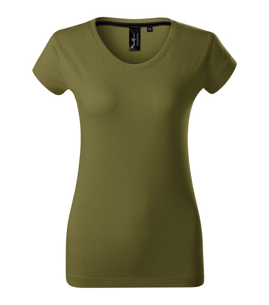 Adler Dámske tričko Malfini Exclusive - Avocado green | L