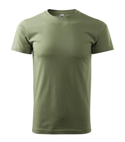 Adler Pánske tričko Basic - Khaki | XXL
