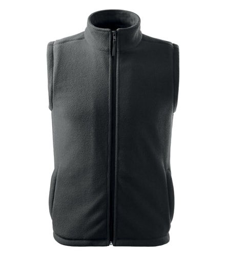 Adler Fleecová vesta Next - Ocelově šedá | XXL