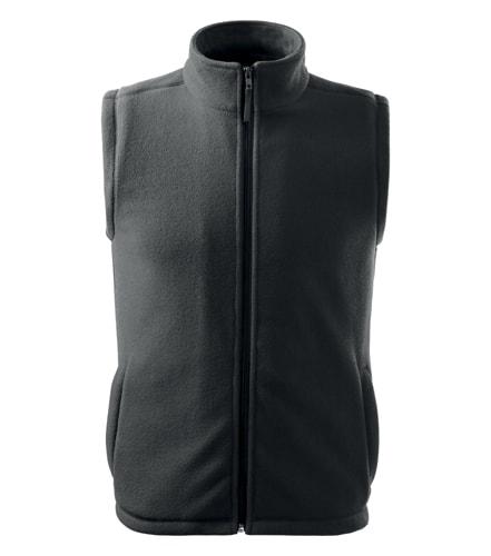 Adler Fleecová vesta Next - Ocelově šedá   L