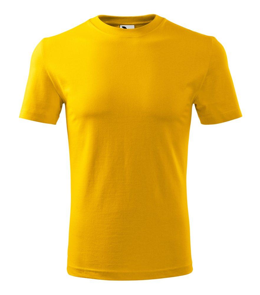 Adler Pánske tričko Classic New - Žlutá | XXL
