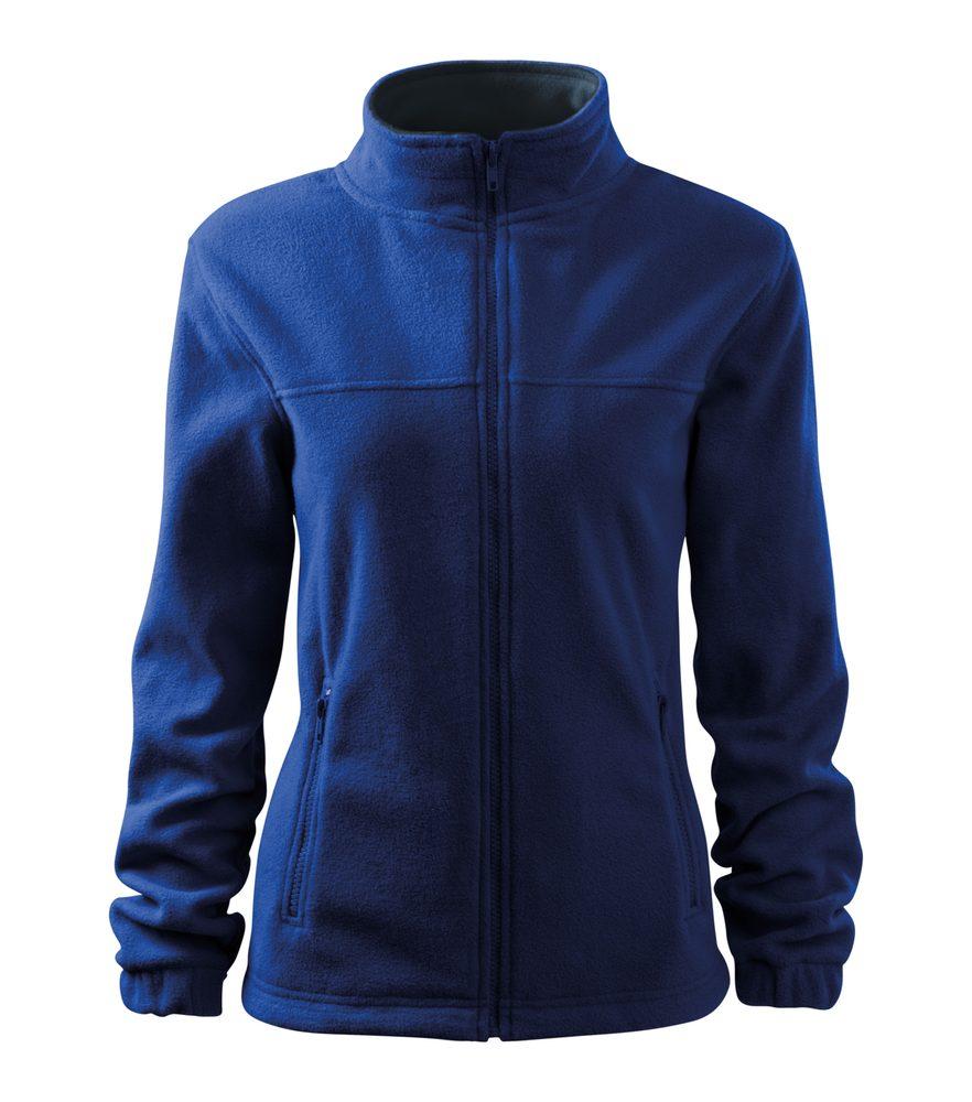 Adler (MALFINI) Dámska fleecová mikina Jacket - Královská modrá   S