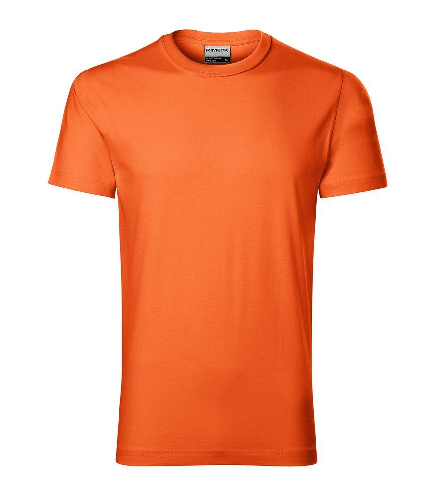 Adler Pánske tričko Resist heavy - Oranžová | XXXL