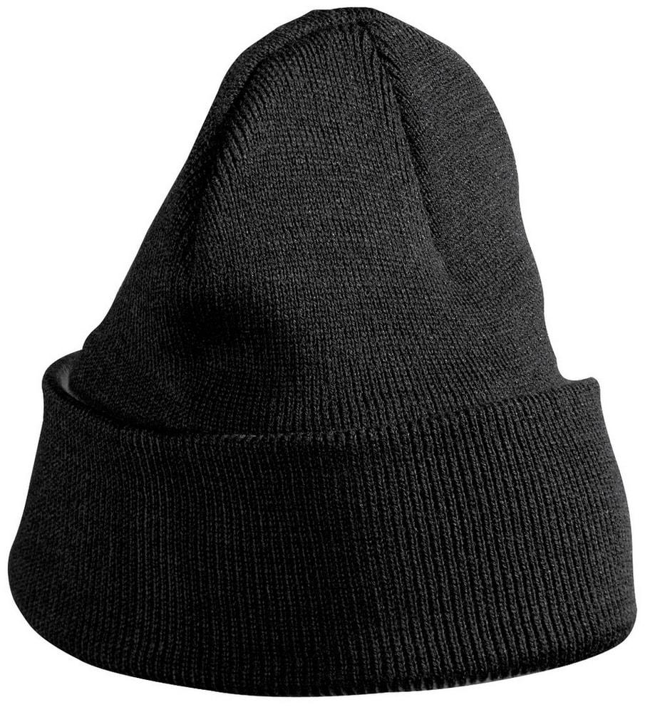 Pletená zimní dětská čepice MB7501 - Černá | uni dětská