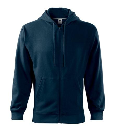 Pánská mikina Trendy Zipper - Námořní modrá | M