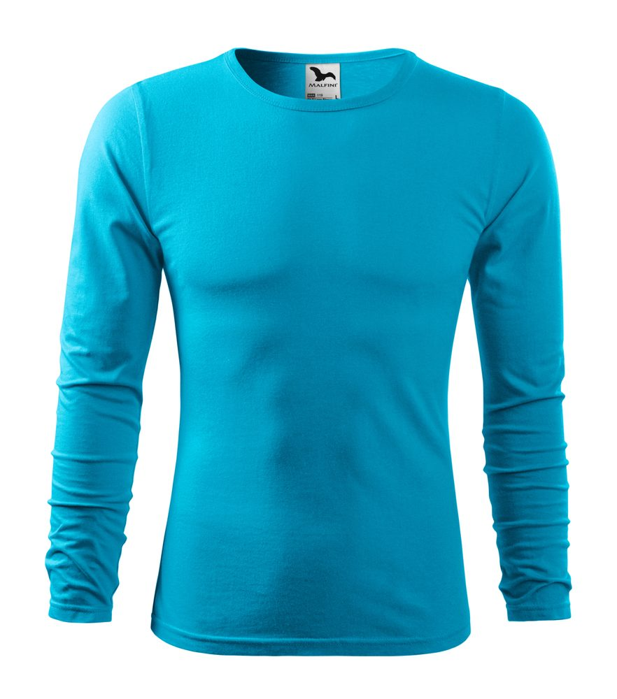 Adler Pánske tričko s dlhým rukávom Fit-T Long Sleeve - Tyrkysová | L