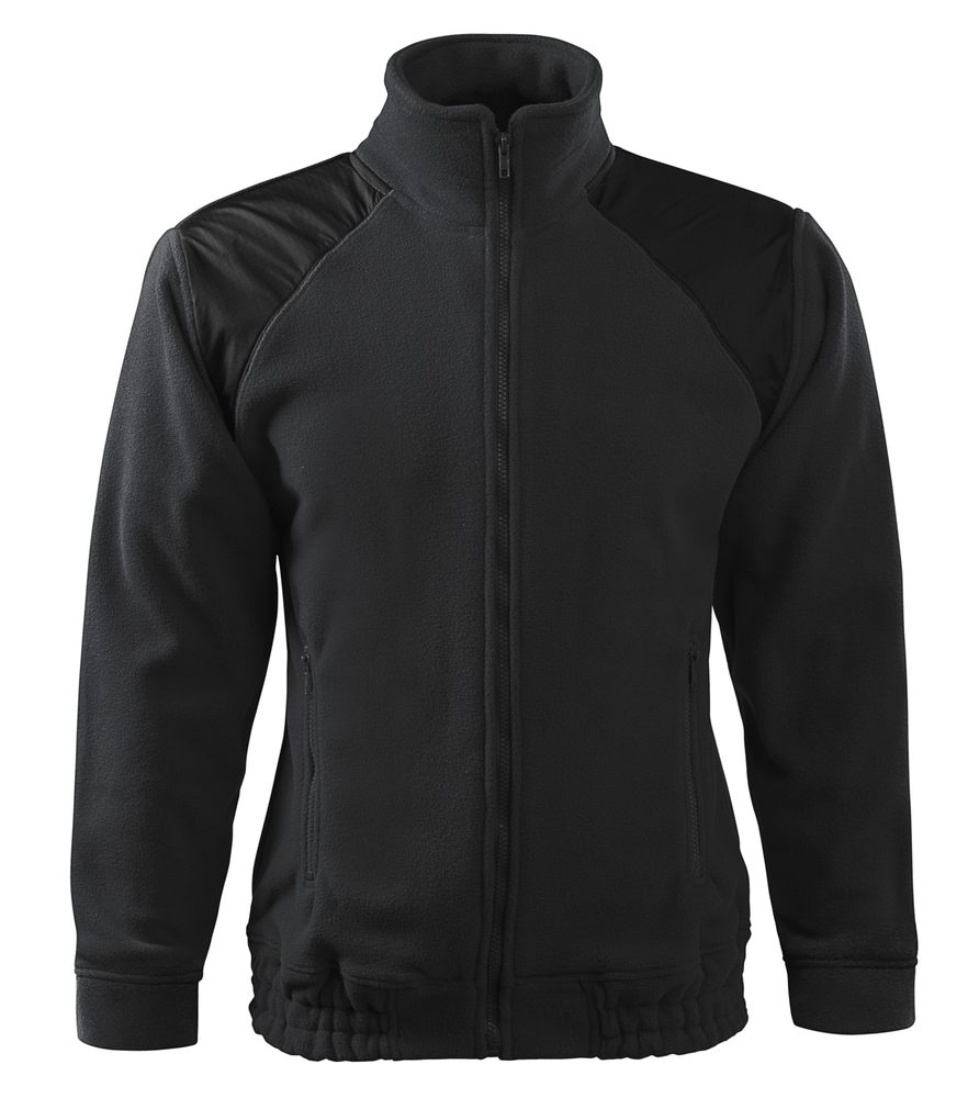 Adler Fleecová mikina Jacket Hi-Q - Ebony gray   L