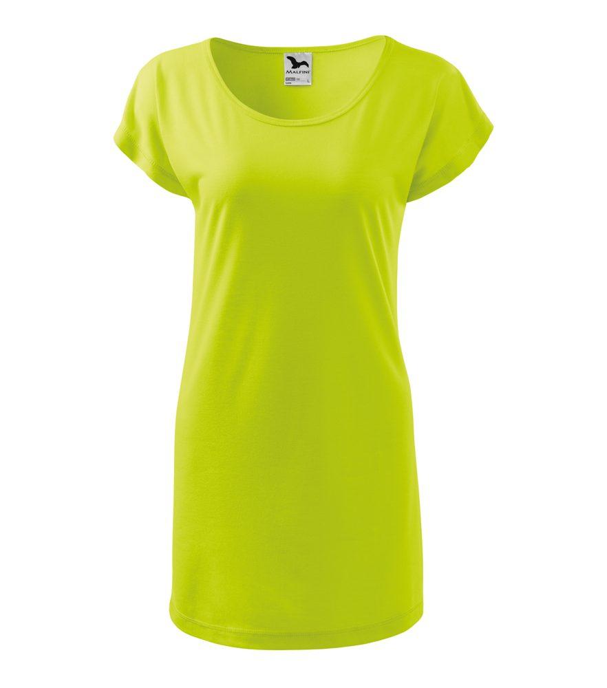 Adler (MALFINI) Dámske tričko Love - Limetková | M