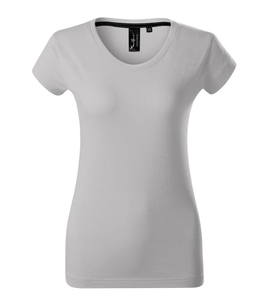 Adler Dámske tričko Malfini Exclusive - Stříbrná šedá | L