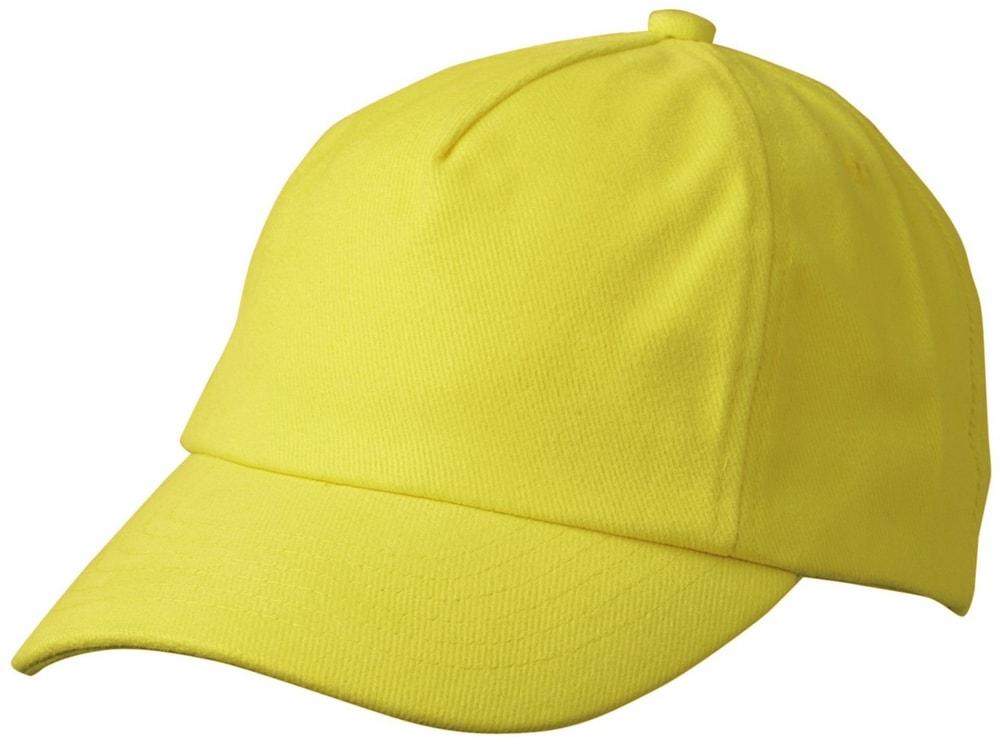 Dětská 5P kšiltovka MB7010 - Žlutá