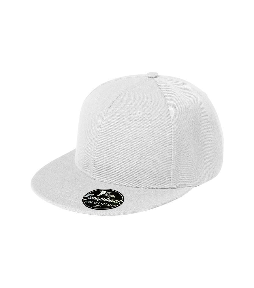 Kšiltovka Rap 6P - Bílá | uni