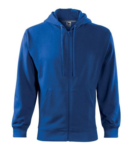 Adler Pánska mikina Trendy Zipper - Královská modrá   S