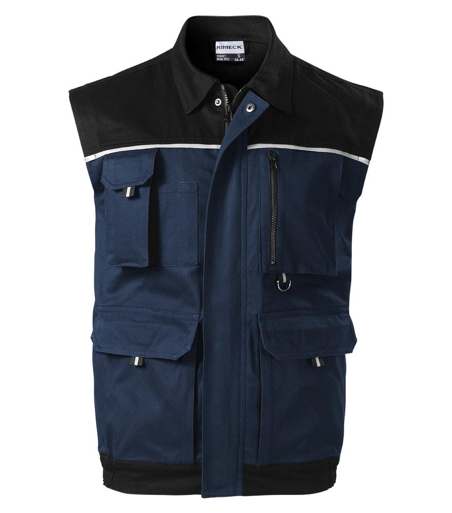 Adler Pracovná vesta Woody - Námořní modrá | S