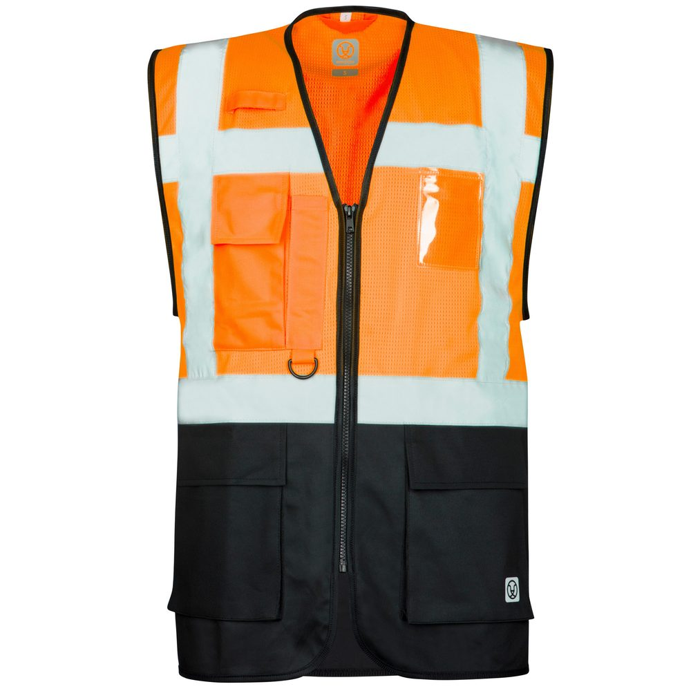Ardon Reflexná vesta SIGNAL - Oranžová / černá   XXL