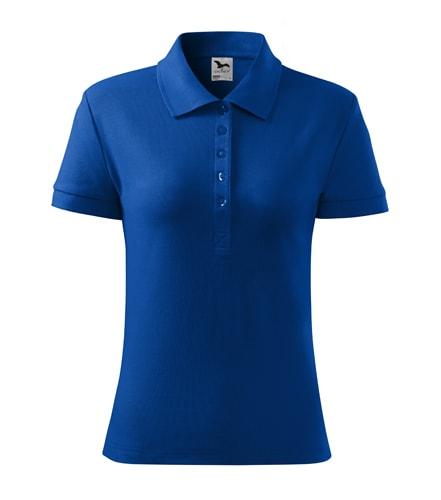 Dámská polokošile Cotton Heavy - Královská modrá | XS