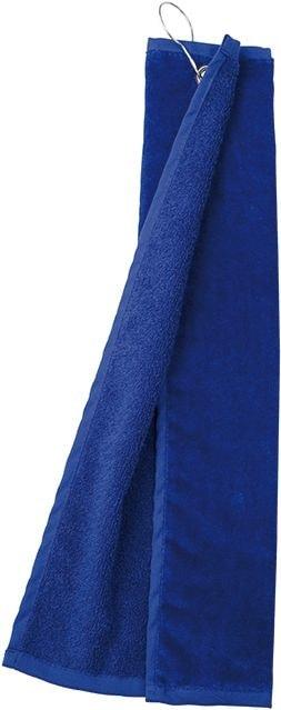 Myrtle Beach Golfový uterák MB432 - Tmavá královská modrá