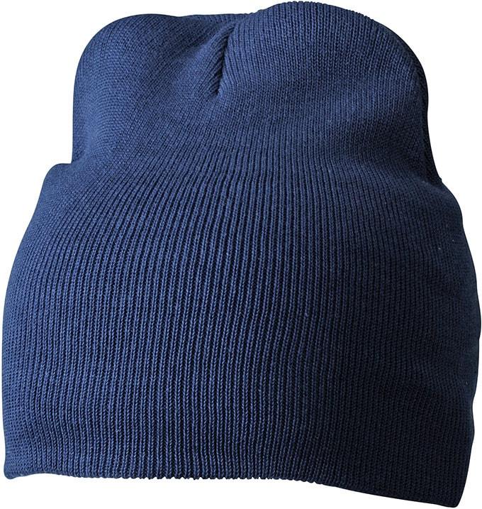 Myrtle Beach Zimná pletená čiapka MB7926 - Tmavě modrá