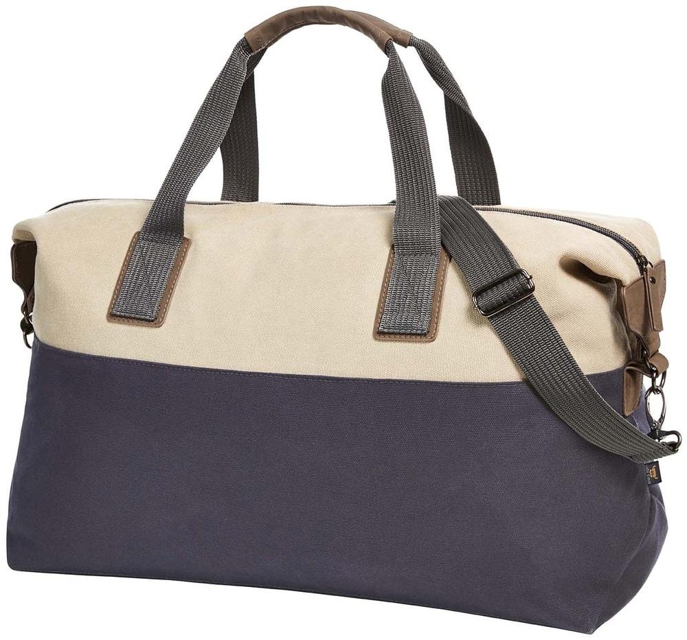 Sportovní cestovní taška JOURNEY - Béžová / tmavě modrá