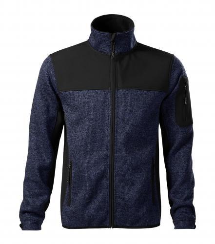 Adler Pánska softshellová bunda Casual - Modrá | XXXL
