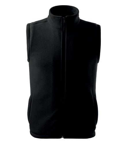 Adler Fleecová vesta Next - Černá | XXXL