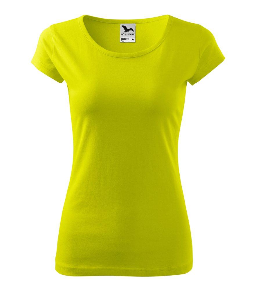Adler Dámske tričko Pure - Limetková | M