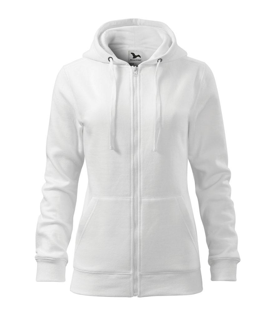 Adler Dámska mikina Trendy Zipper - Bílá | L
