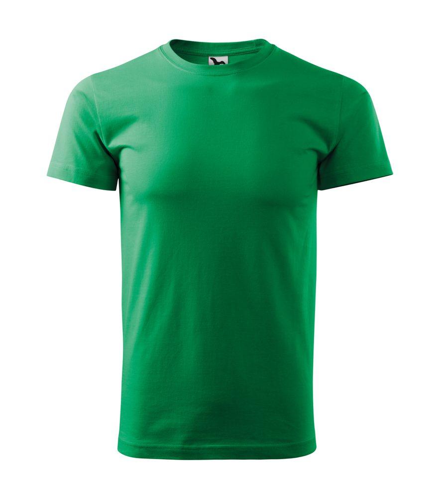 Adler Tričko Heavy New - Středně zelená | M