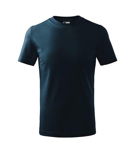 Adler Detské tričko Classic - Námořní modrá | 158 cm (12 let)
