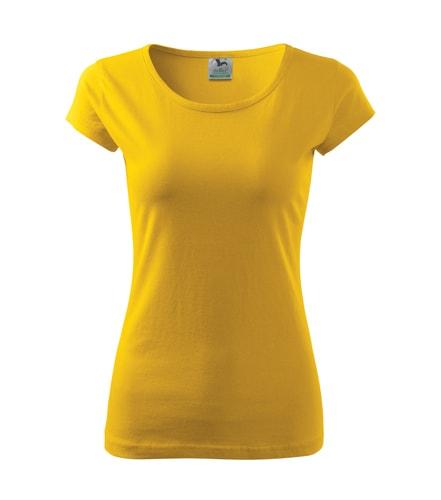 Adler Dámske tričko Pure - Žlutá | XS